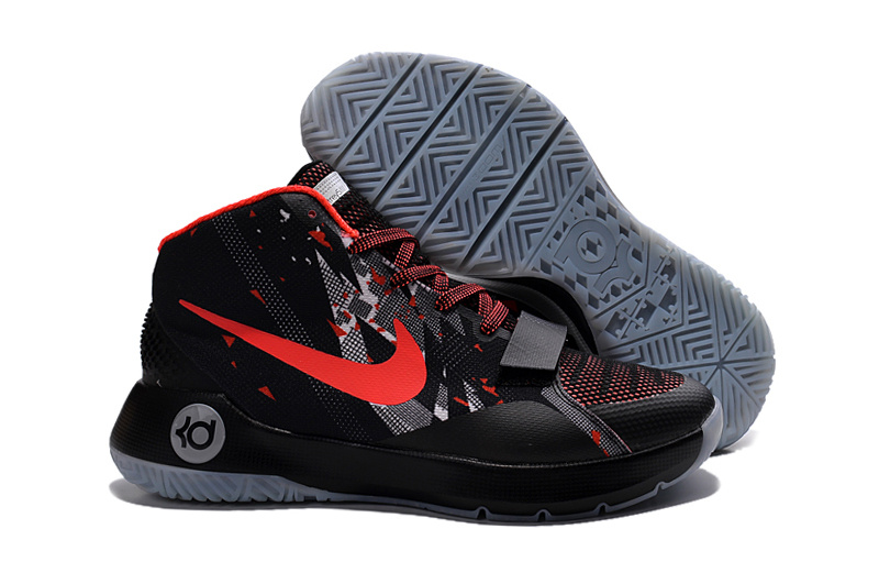Nike KD TREY III Black Red Shoes
