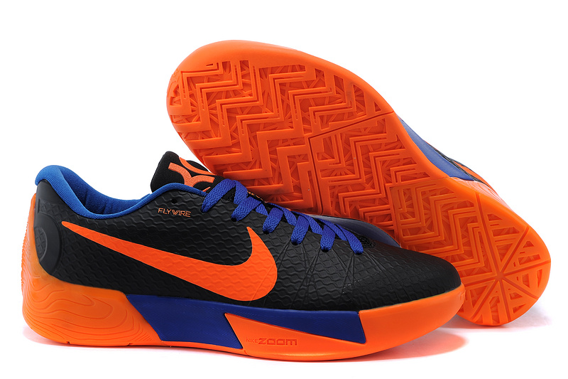 Nike KD Trey 5 II Black Orange Blue Shoes