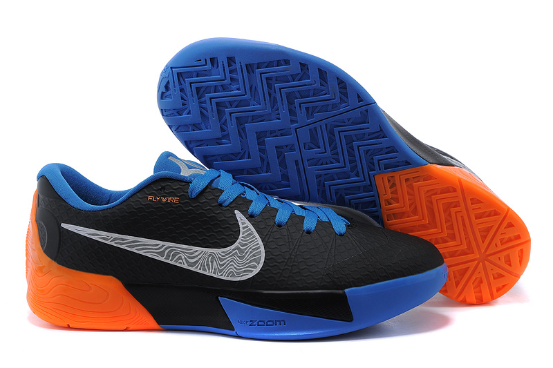 Nike KD Trey 5 II Flywire Black Blue Orange Shoes