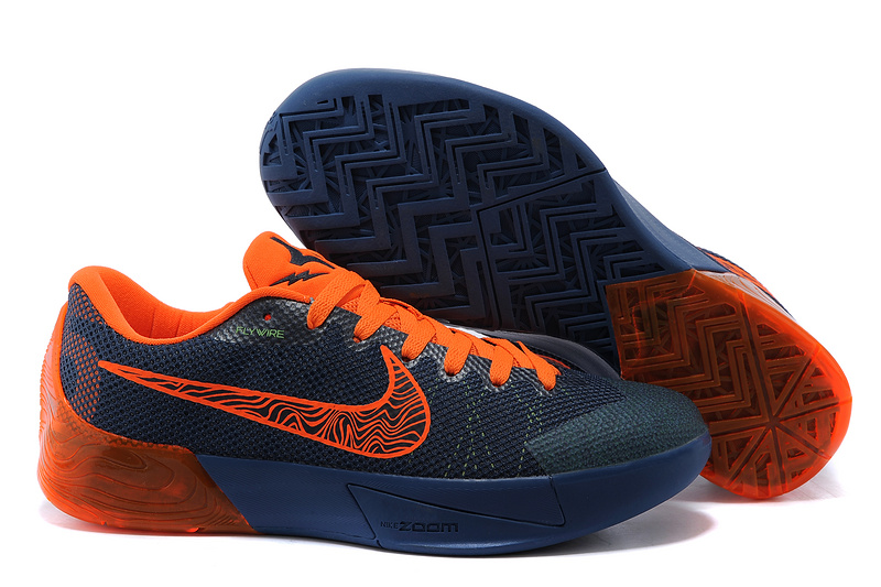 Nike KD Trey 5 II Flywire Dark Blue Orange Shoes