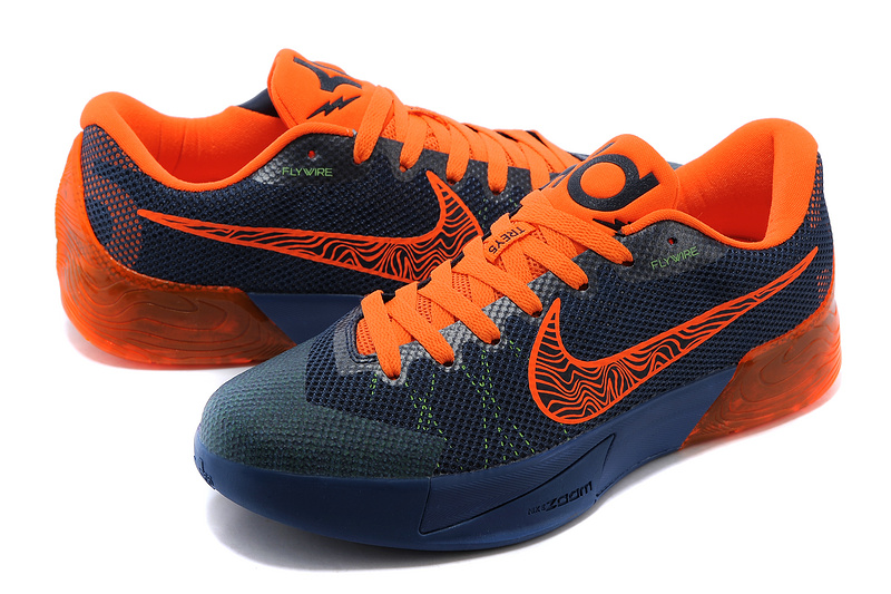 27225a217f3d Nike KD Trey 5 II Flywire Dark Blue Orange Shoes Authentic Nike KD ...
