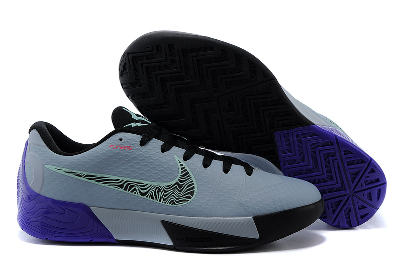 Nike KD Trey 5 II Flywire Grey Black Purple Shoes