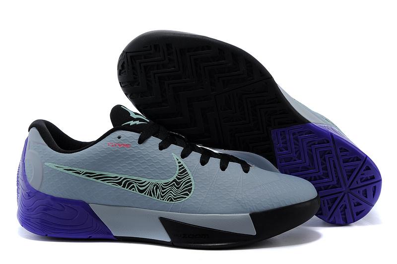 3458abd7ace Nike KD Trey 5 II Flywire Grey Black Purple Shoes Real Nike KD Trey ...