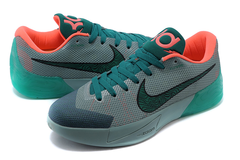 701c4fea40db Nike KD Trey 5 II Flywire Grey Green Orange Shoes Order Nike KD Trey ...