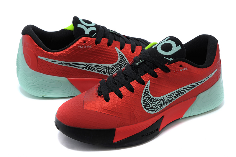 the best attitude 2461e b96c8 Nike KD Trey 5 II Flywire Red Black Green Shoes
