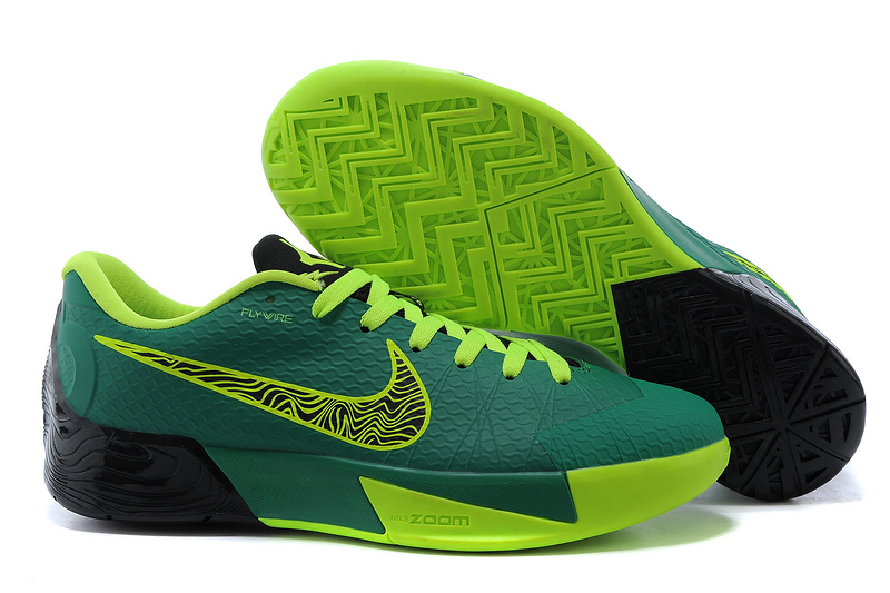 Nike KD Trey 5 II Green Fluorscent Black Shoes