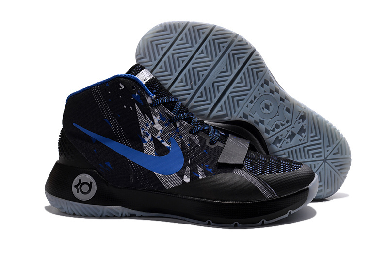 Nike KD Trey 5 III Black Blue Shoes