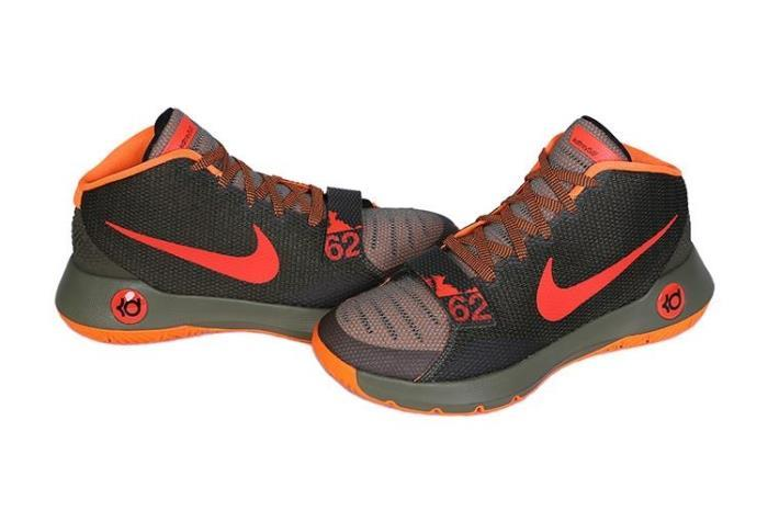Nike KD Trey 5 III Black Orange Shoes