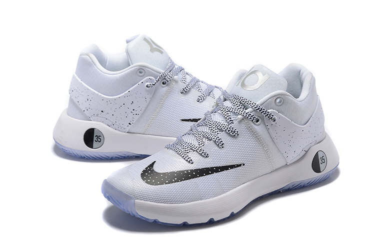 Nike KD Trey 5 IV All White Shoes