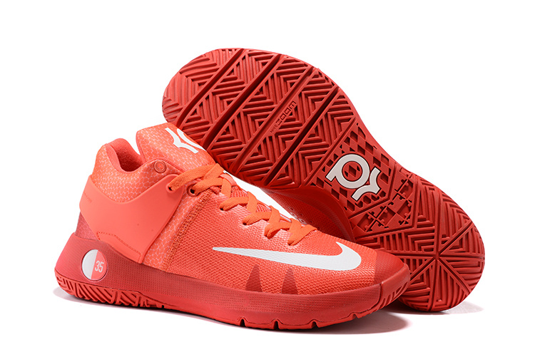 Nike KD Trey IV Red White Shoes