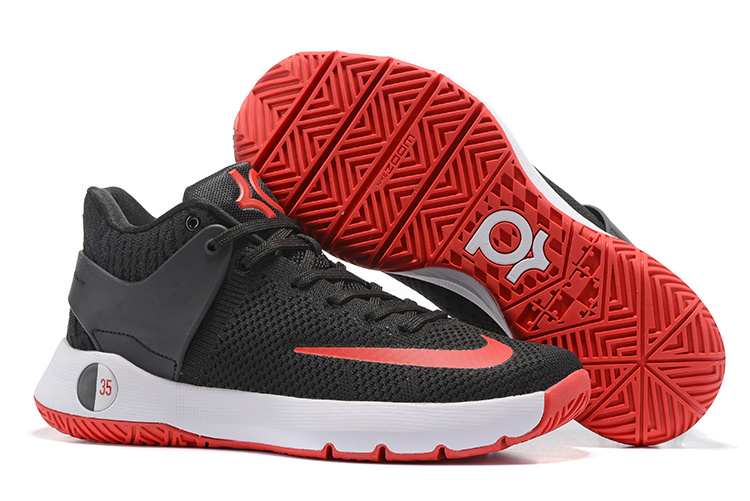 Nike KD Trey V Flywire Black Red Shoes