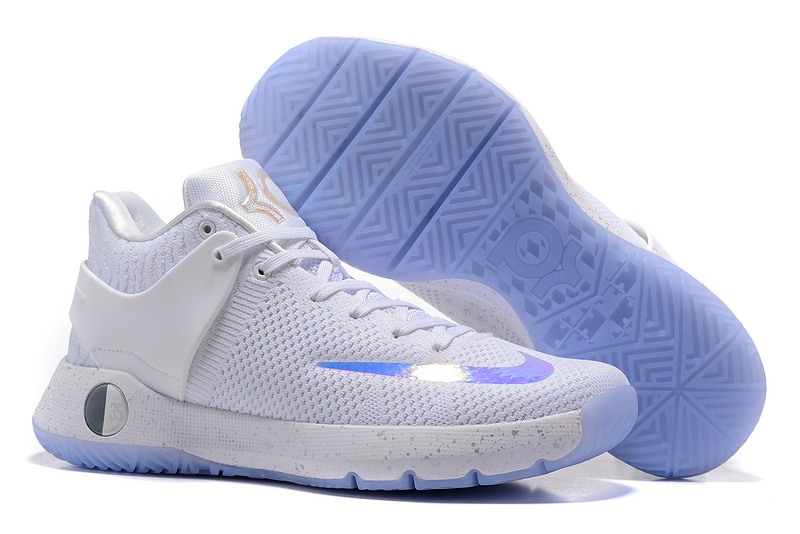 Nike KD Trey V Flywire White Baby Blue Shoes