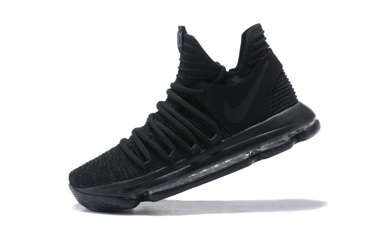 Nike Kevin Durant 10 All Black Shoe