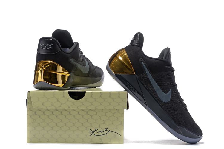 e1e85539e8c9 Nike Kobe 12 A.D Black Gold Shoes  NKOBE3883  -  83.00   Original ...