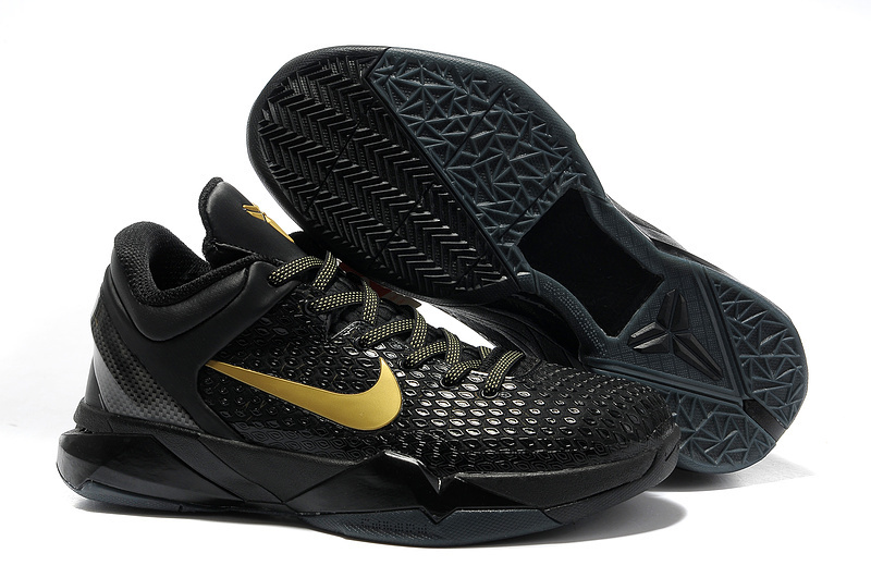 Nike Kobe 7 Black Gold Shoes