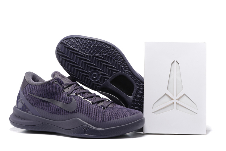 Nike Kobe 8 Retire Commeemoration All Grey Shoes