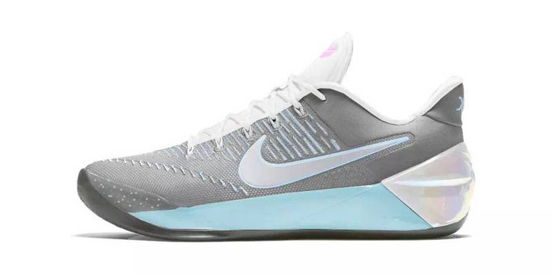 Nike Kobe A.D Grey Light Blue White Shoes