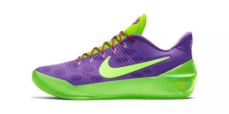 Nike Kobe A.D Purple Green Shoes