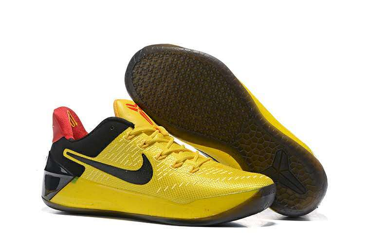 Nike Kobe A.D Yellow Black Shoes