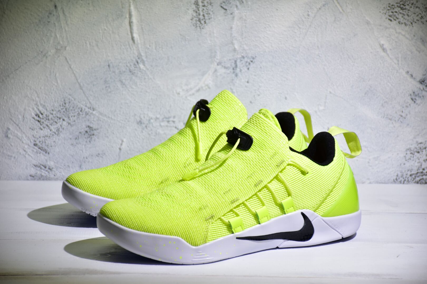Nike Kobe A.D. Fluorscent Green White Shoes