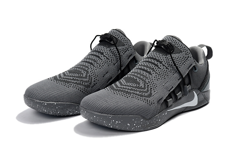Nike Kobe A.D. NXT Flyknit Carbon Grey Black Shoes