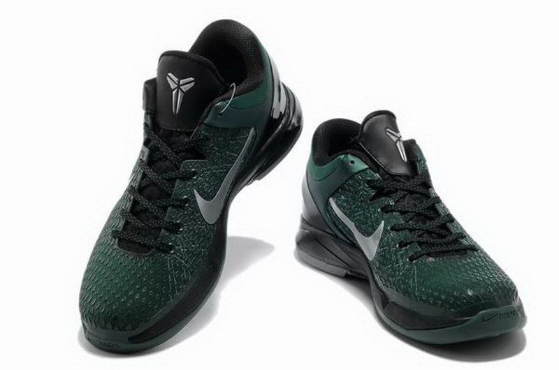 f6e68a8cb0c4 Nike Kobe Bryant 7 Elite Green Black Silver Shoes Nice Quality Nike ...