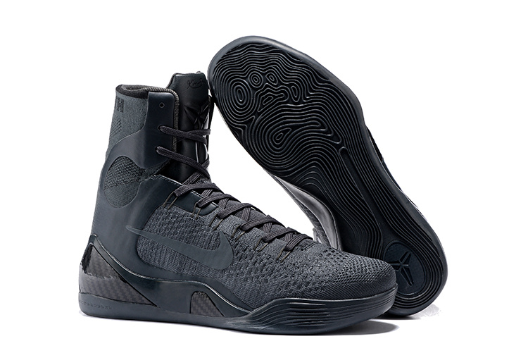 Nike Kobe Bryant 9 High Carbon Grey Shoes