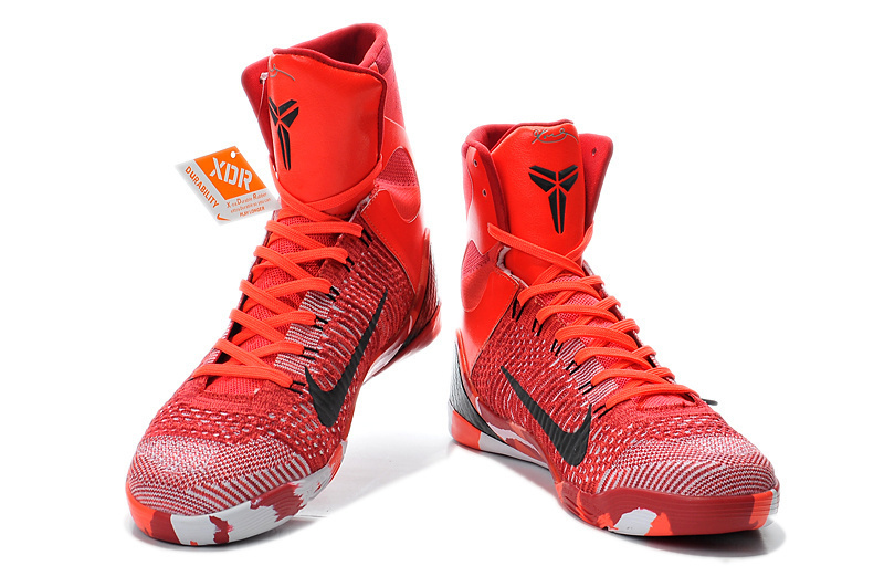 newest 3ad63 d4572 Nike Kobe Bryant 9 High Christmas Red Shoes 2014 Nike Kobe ...