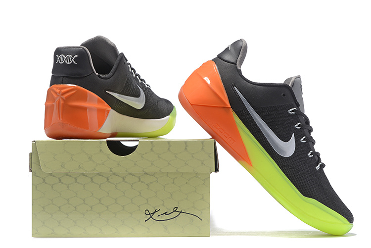 Nike Kobe Bryant A.D All Star Black Yellow Orange Shoes