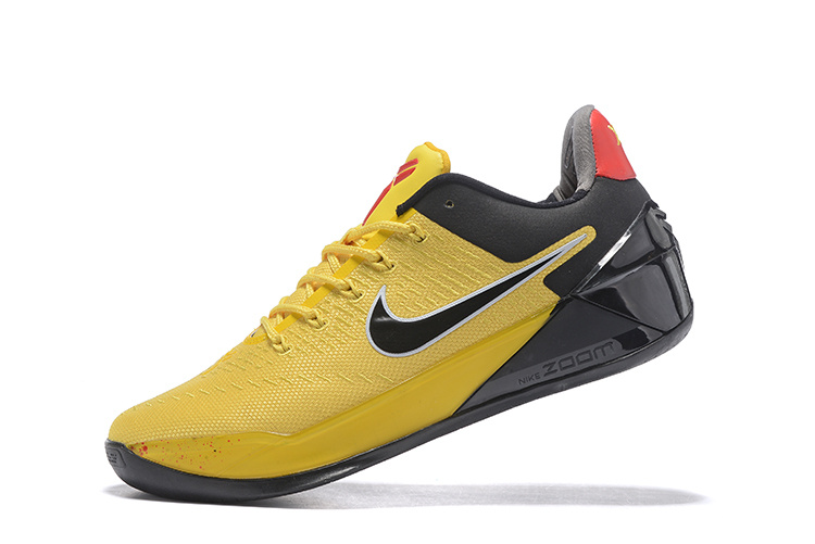 Nike Kobe Bryant A.D Bruce Lee Yellow Black Shoes - Click Image to Close