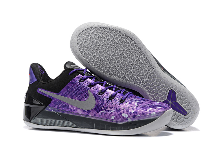 Nike Kobe Bryant A.D Purple Black Shoes
