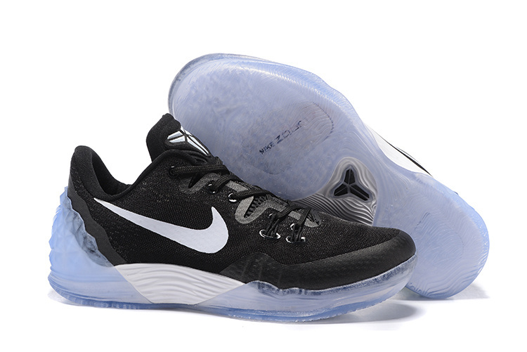 Nike Kobe Bryant Venomenon V Black White Shoes