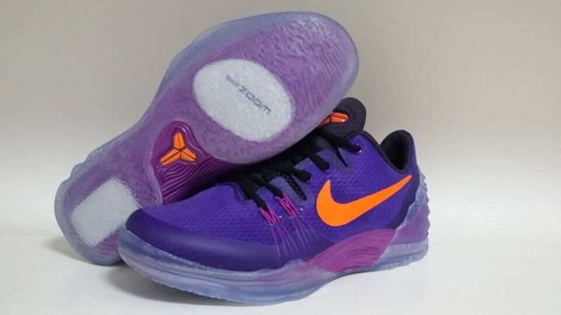 sale retailer f70f8 cea89 Nike Kobe Venomenon 5 Purple Orange Shoes