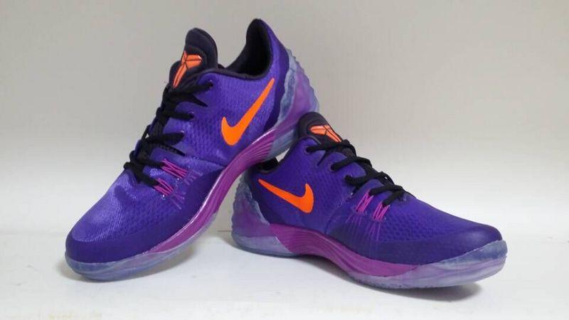 premium selection 88863 fa52e ... best price nike kobe venomenon 5 purple orange shoes 9f57f dd0f3