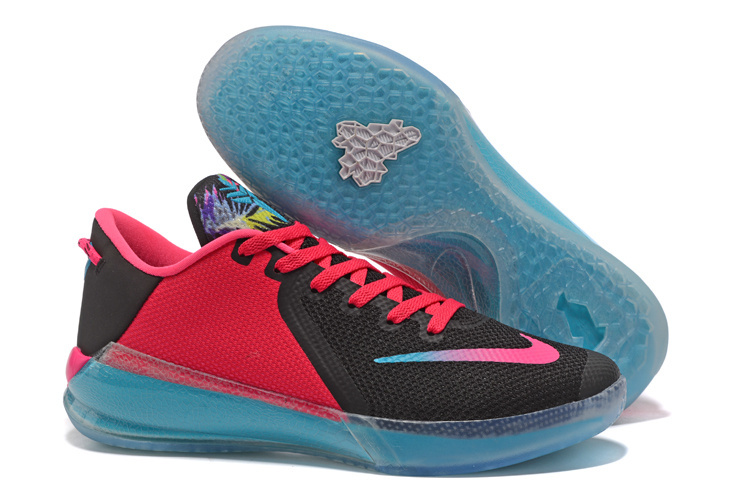 Nike Kobe Venomenon 6 South Beach Black Red Blue Shoes