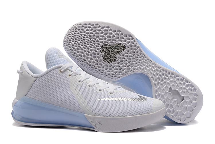 Nike Kobe Venomenon 6 White Light Blue Shoes