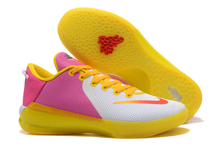 Nike Kobe Venomenon 6 White Yellow Pink Shoes