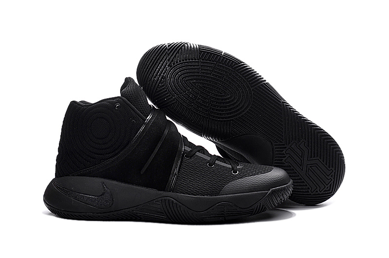 Nike Kyrie 2 All Black Worriors Shoes