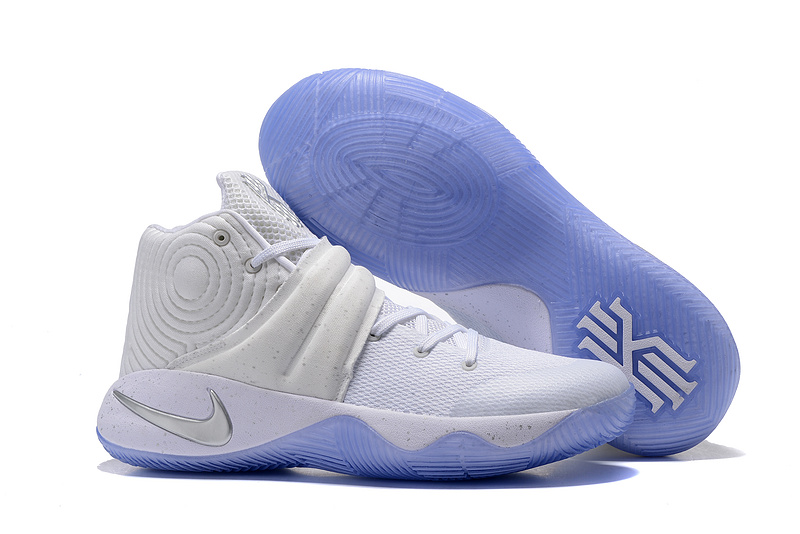 Nike Kyrie 2 All White Shoes
