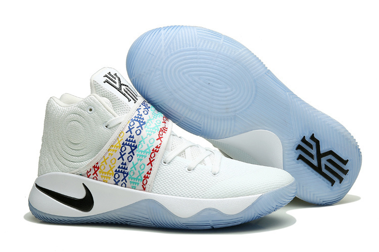 Nike Kyrie 2 Training Camp White Colorful Shoes