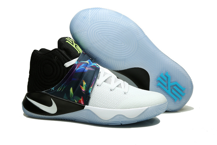 Nike Kyrie 2 White Black Colorful Shoes