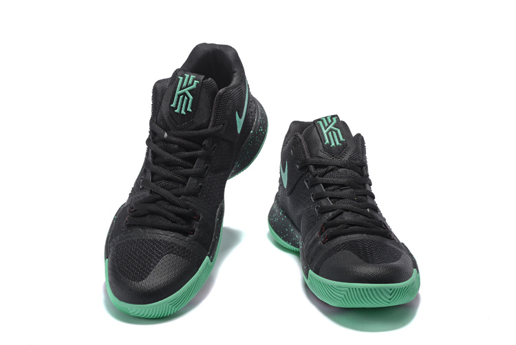 Nike Kyrie 3 Black Green Shoes