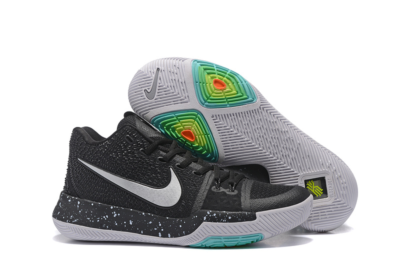 Nike Kyrie 3 Black White Shoes