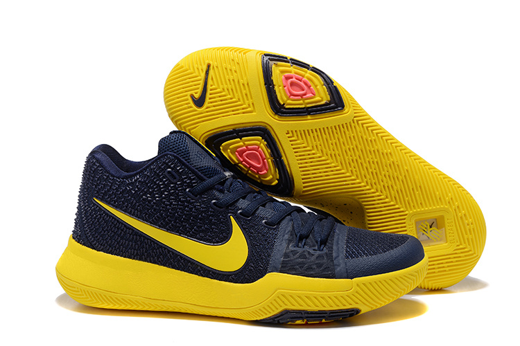 Nike Kyrie 3 Black Yellow Shoes