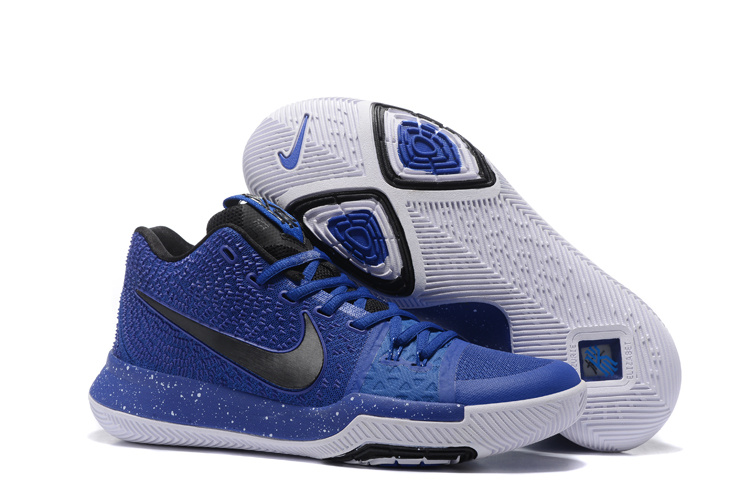 Nike Kyrie 3 Blue Black White Shoes