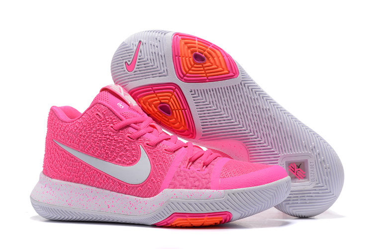 Nike Kyrie 3 Breast Cancer Pink White