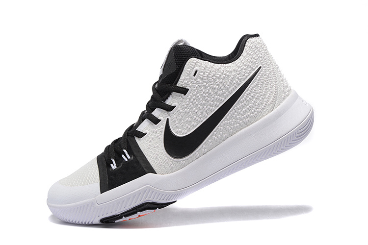 more photos d9af1 d58d0 Nike Kyrie 3 White Black Colorful Shoes