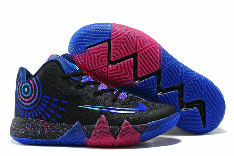Nike Kyrie 4 Black Blue Red Shoes