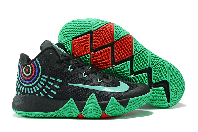 Nike Kyrie 4 Black Green Shoes