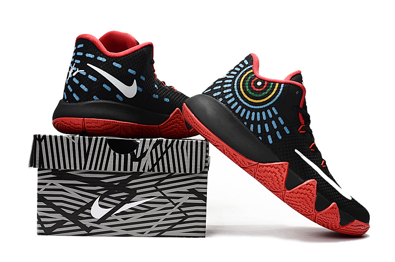 Nike Kyrie 4 Black Red Shoes